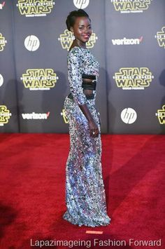 See our Fabulous Red Carpet Review on Lapazimageing Fashion Forward http://www.lapazimageingfashion.com/no-star-wars-on-the-red-carpet/