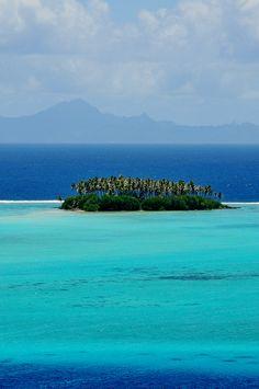 Raiatea, French Polynesia #polynesia #water #mountains