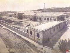 Fábrica textil de algodón Can Trinxet, L'Hospitalet de Llobregat (1907). Fuente: Centre d'Estudis de L'Hospitalet (CELH)