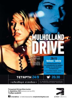 Mulholland Drive (2001) poster