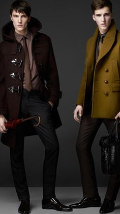 Burberry - Felted Wool Pea Coat (Getting ready for the next season)