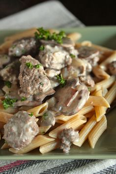 Beef Stroganoff Country Style