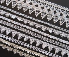 Assorted Lace Lot For Sewing And Crafting // by PastPiecesVintage, $6.00