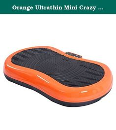 Orange Ultrathin Mini Crazy Fit Vibration Platform Massage Machine Fitness Gym. Color: Orange Material: ABS(Enclosure) + Rubber & Plastic(Stepper) + Steel Frame(Body Inside) Rated Voltage: 90-110V AC Rated Power: 200W Rated Frequency: 60Hz Speed Range In Manual-Mode: 1-60(Useful In Manual-Mode, Not Useful In Auto-Mode) Auto Speed In Auto-Mode: 9(P1,P2,P3,P4,P5,P6,P7,P8,P9) Time Setting: 15 Min In Auto-Mode(Time Can Be Changed In Manual-Mode) Overall Dimension: 30'' X 18'' X 5.5''(L X W X…