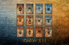 Zodiac XII - H by chib