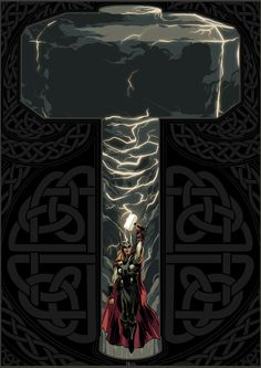 Thor, God of Thunder - by Dave Collinson