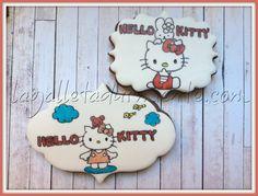 Galletas Hello Kitty pintadas a mano.