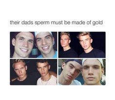 . Magcon Boys, Stupid Memes, Cute Boys, Boy Or Girl, Eye Candy, Daddy, Funny Quotes, Jokes, Handsome