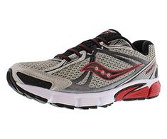 aa71f5e3011b70 Saucony Mens Ignition 5 Running ShoeSilverBlackRed105 M US -- Read more  reviews of the product by visiting the link on the image.