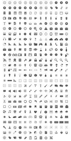 Ressources – Un monstrueux pack de 350 icônes