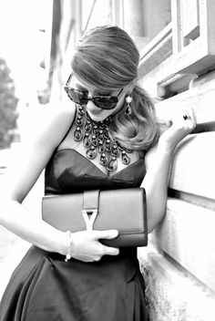 @Scent of Obsession fashion blogger - daily style, travels and style tips : BLACK DRESS