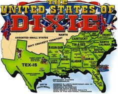 The United States of Dixie. One can only wish................