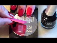 Supertruco para estampacion en uñas/ Stamping nails cute trick