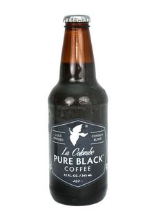 Obsessed with cold pressed coffee...nothing added...just coffee.