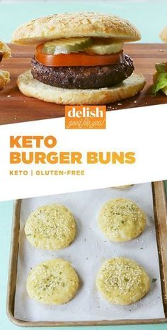 Keto Buns, hun Ketogenic Recipes, Low Carb Recipes, Diet Recipes, Soup Recipes, Coconut Recipes, Lamb Recipes, Juice Recipes, Shrimp Recipes, Recipes Dinner