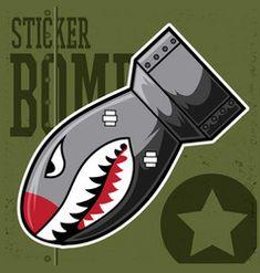 Graffiti Wallpaper, Graffiti Art, 3d Sidewalk Art, Shark Mouth, Tatuaje Old School, Military Drawings, Shark Tattoos, Sticker Vinyl, Poster Ads
