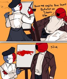 Cute Short Love Story, Deadpool X Spiderman, Humans Meme, Human Flag, History Jokes, Splatoon Comics, Mundo Comic, Human Art, Country Art