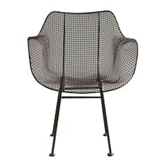 Wire Chair Brown - Shed the Eclectic Home
