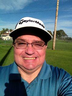 Now I know why I don't put my name on my golf balls.  Oops.