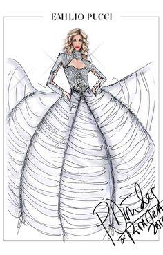 Emilio Pucci a designé les costumes de la tournée de Rita Ora