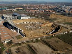 obras nuevo estadio atlético de Madrid. Cruz y Ortiz Arquitectos