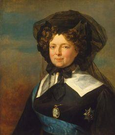 María Fiodorovna hacia 1825