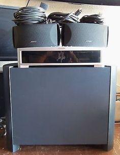 bose 321. Cool Bose 321 Series III HDMI Media Center Speaker System Logitech 650 Remote Mint! -