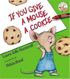"""""""If you give a mouse a cookie, he's going to ask for a glass of milk. When you give him the milk, he'll probably ask you for a straw. . . """". So begins this delightful story about an energetic mouse and an accommodating little boy."""