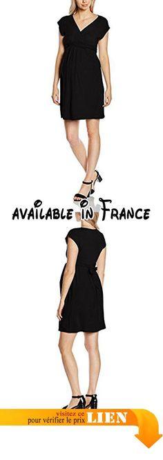 B018B3LX8U : Balloon 810043 - Robe - Maternité - Uni - Sans manche - Femme - Noir - FR: 38 (Taille fabricant: 1). Toucher ultra doux