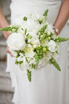 Fresh Flower Wedding Bouquets