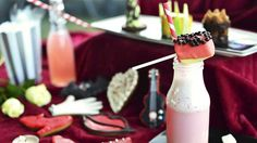 Sensational views over London from the iconic OXO Tower on the South Bank with an ever-changing NOT afternoon tea menu. Theatres, Matilda, Afternoon Tea, Pastries, Glass Of Milk, Opera, Wicked, Restaurants, Lion