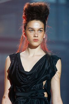 Vivienne Westwood Spring 2014 Ready-to-Wear Collection #Paris #PFW #RTW #SS14 #fashion #style #show #runway #models #trends #haircut