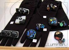 Unikat-Glas-Schmuck von Luminiah