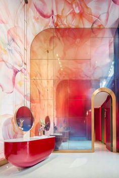 Nordic Bathroom by LM Design Studio - Home Design and Decoration Interior Design Inspiration, Home Interior Design, Interior Architecture, Interior Decorating, Diy Decorating, Modern Interior, Design Café, House Design, Nordic Design