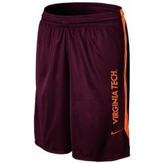 da7c0d59f7a Nike Virginia Tech Hokies Classic Mesh Shorts - Maroon