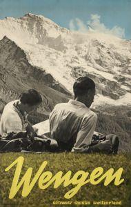 Wengen, Switzerland by Hans Thoni, 1933