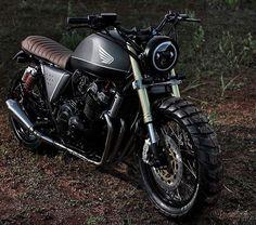 "BikeBound — ""The Rover"" 1998 Honda CB400 by @studio_motor,..."