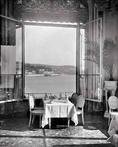 Nice, Vue du restaurant de la Jetée-Promenade 1930