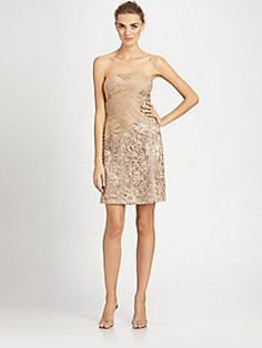Sue Wong - Beaded Strapless Dress