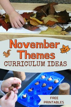 Preschool November Theme Ideas