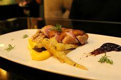 Love fine dining establishment Finn & Porter located inside the E. 4th St. Hilton Austin! SO good! -- Roasted Duck Breast