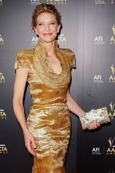Cate Blanchett -- 2012 AACTA Awards