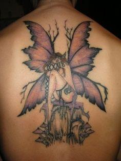 Amy Brown Fairy Tattoo