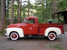 1953 Chevy Truck... One day my hubby will anniversary gift me with one of these babies!