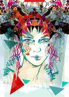 """Princess 2  by Irmak Akcadogan Art Print / MINI (8"""" x 10"""") $14.56"""