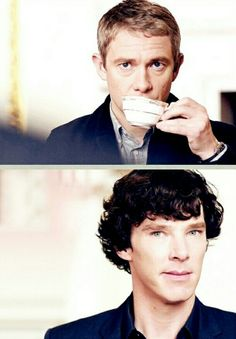 Sherlock Holmes & John Watson | Benedict Cumberbatch & Martin Freeman