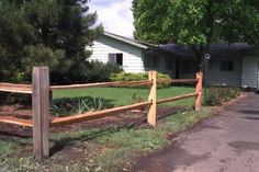 post and rail fence designs | How to Build a Split Rail Fence