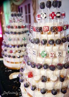 Casino Party Cake Pop Display