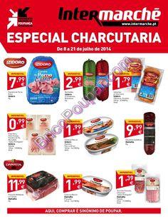 Antevisão Promoções Folheto Intermarché - de 8 a 21 de julho - Especial Charcutaria