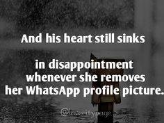 #disappointment #remove #whatsapp #profile #mine